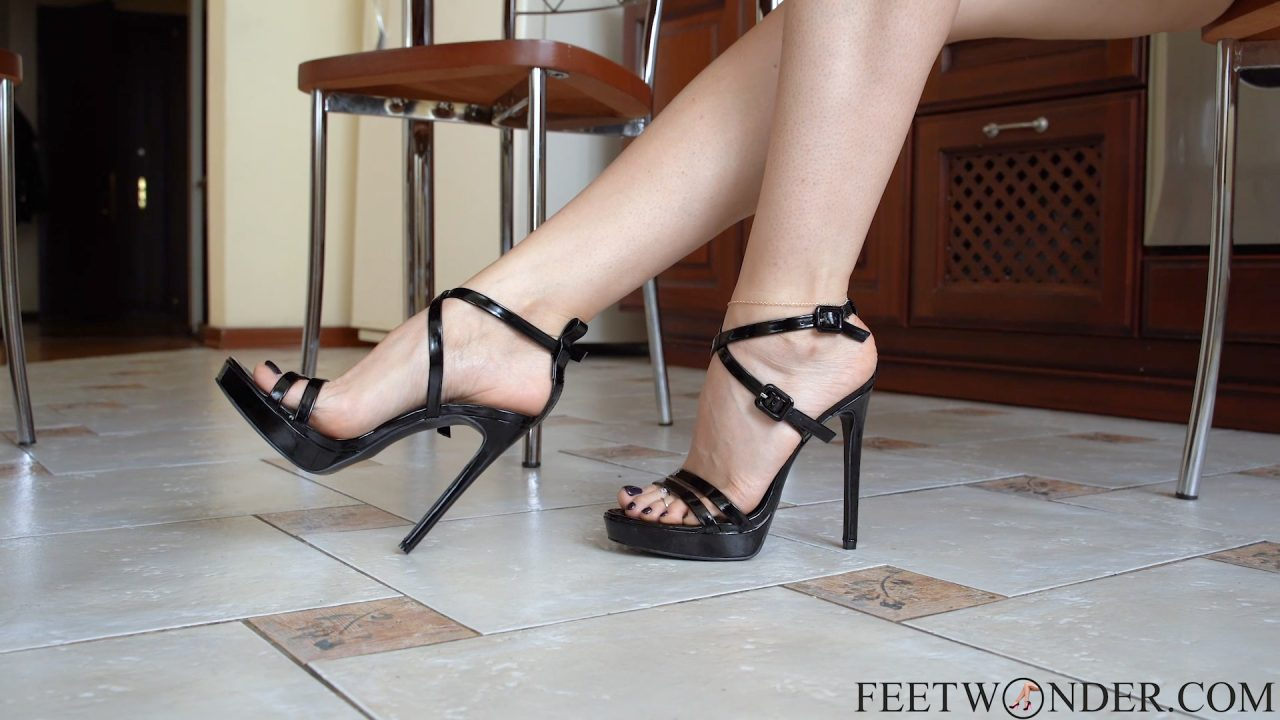 flawless feet in high heels