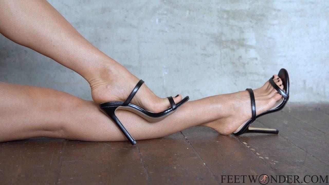 legs and feet in heels