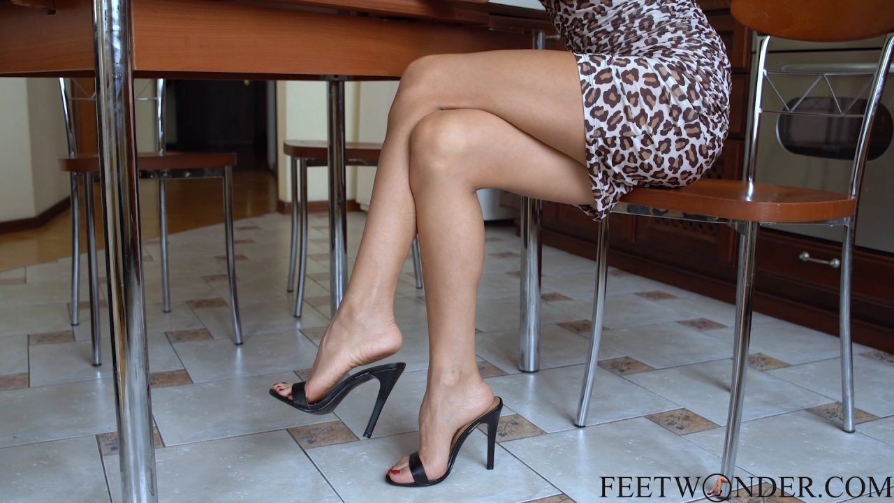 perfect female feet and legs