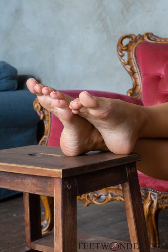 Sexy Blond Feet And Soles