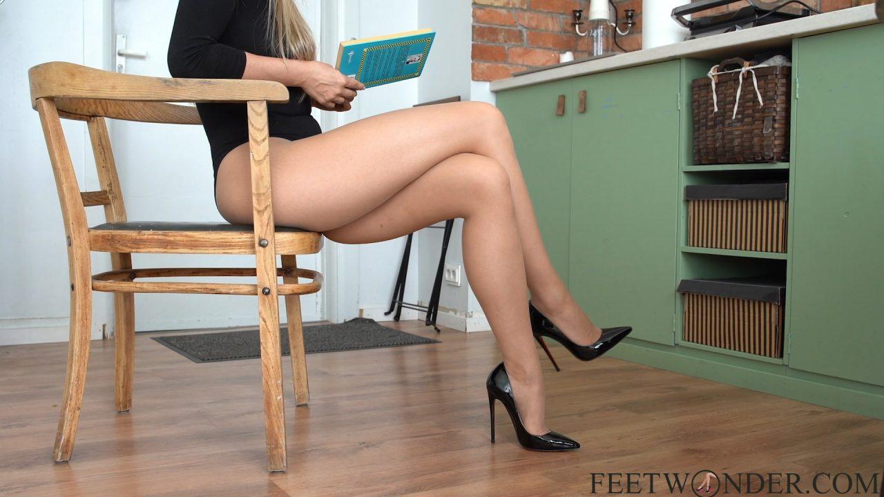 Sexy Long Legs Crossed