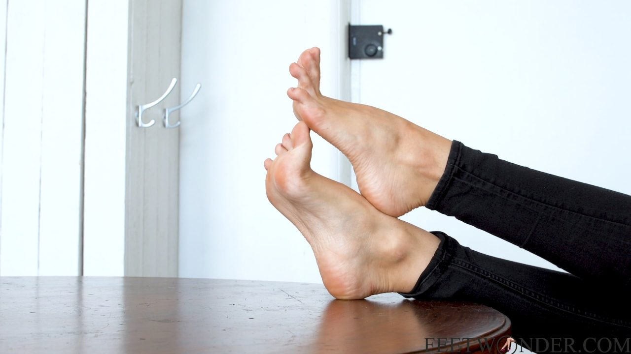 High arched sexy feet