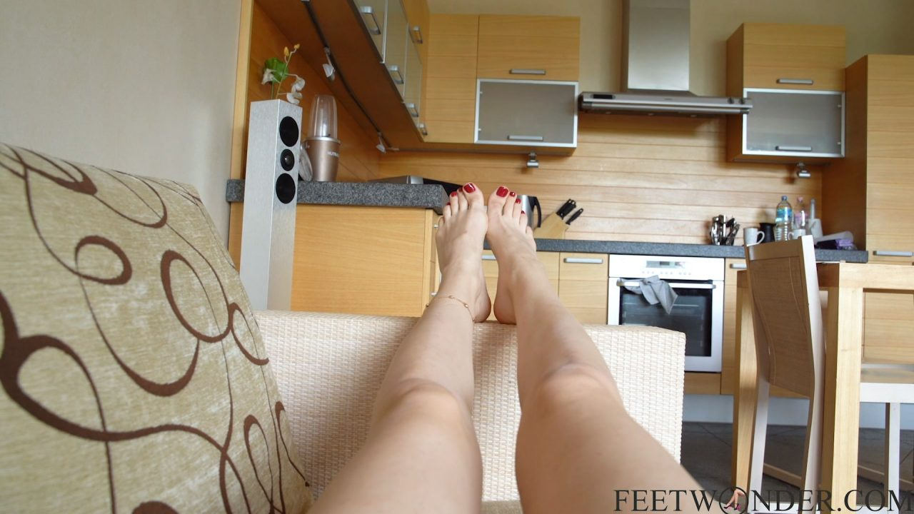 Sexy Red Toes Pov