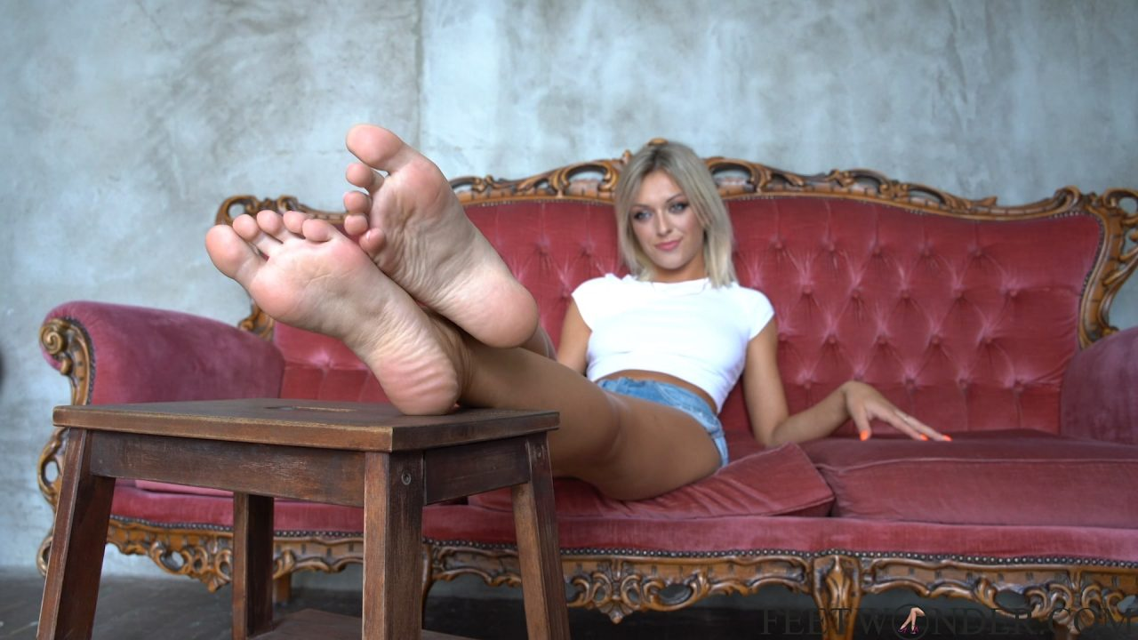 soft smelly feet