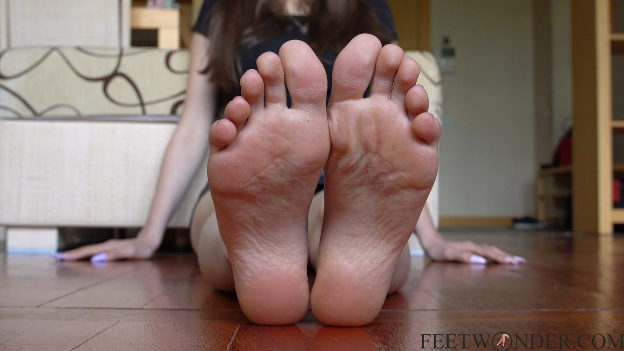 Female feet and soles