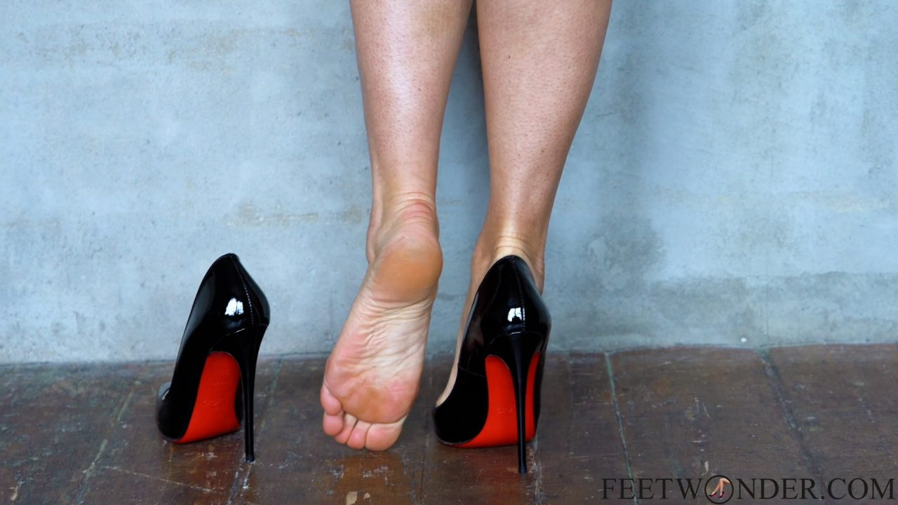 Feet Dipping In Louboutin Shoes