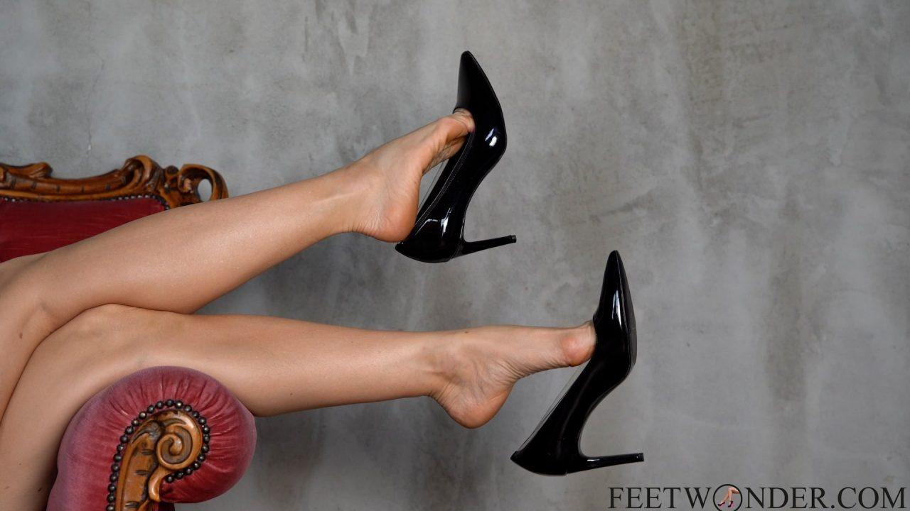 sexy high heeled dangling