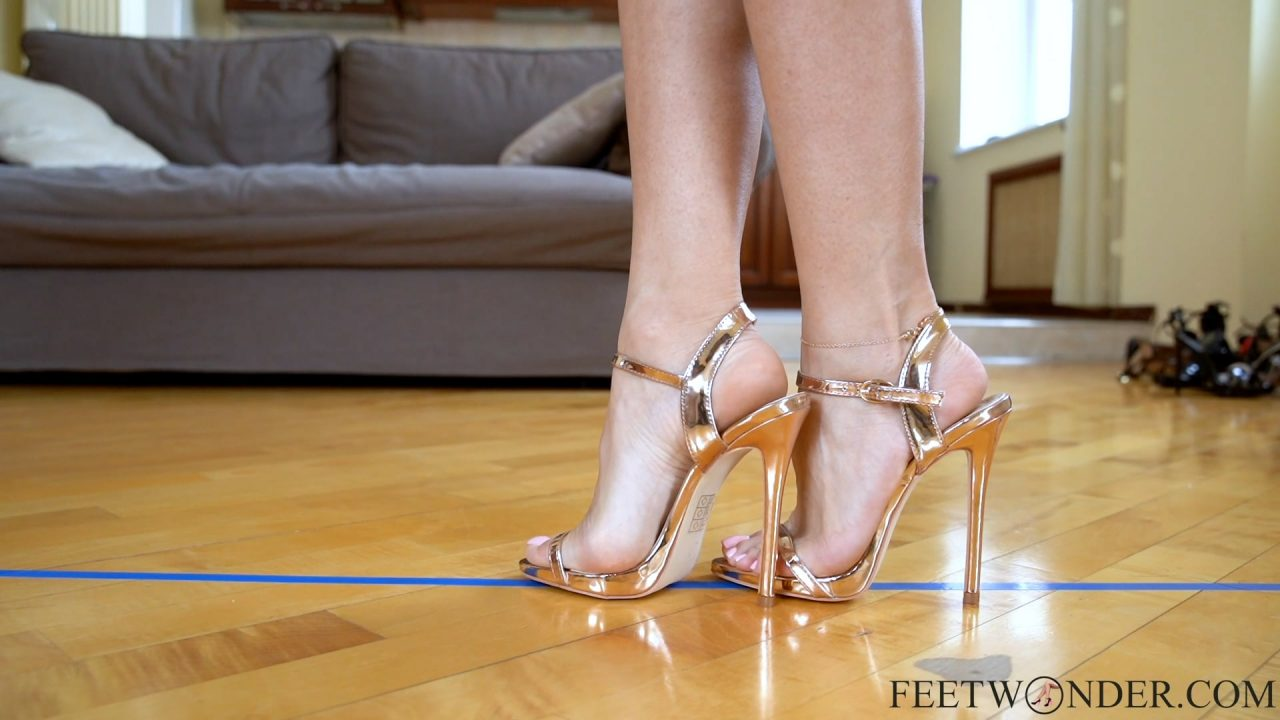 Female Feet In High Heels