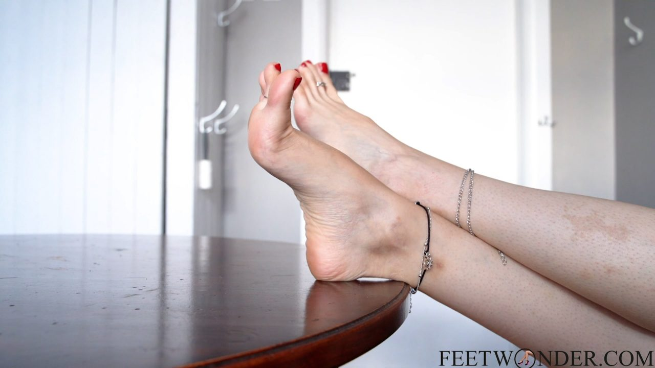 bare feet and arches
