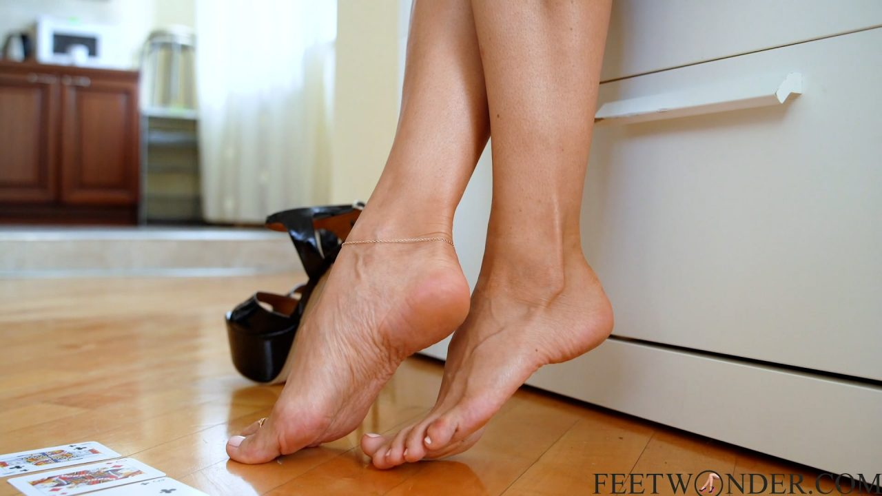 bare feet and toes